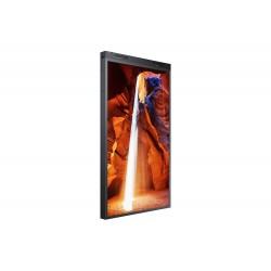 """Écran vitrine haute luminosité double faces 55"""" SAMSUNG OM55N-D avec écrans de 3000CDL en face avant et 1000CDL en face arrière"""