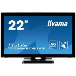 "IIYAMA PROLITE T2236MSC-B2AG Écran 22"" tactile 10 points"