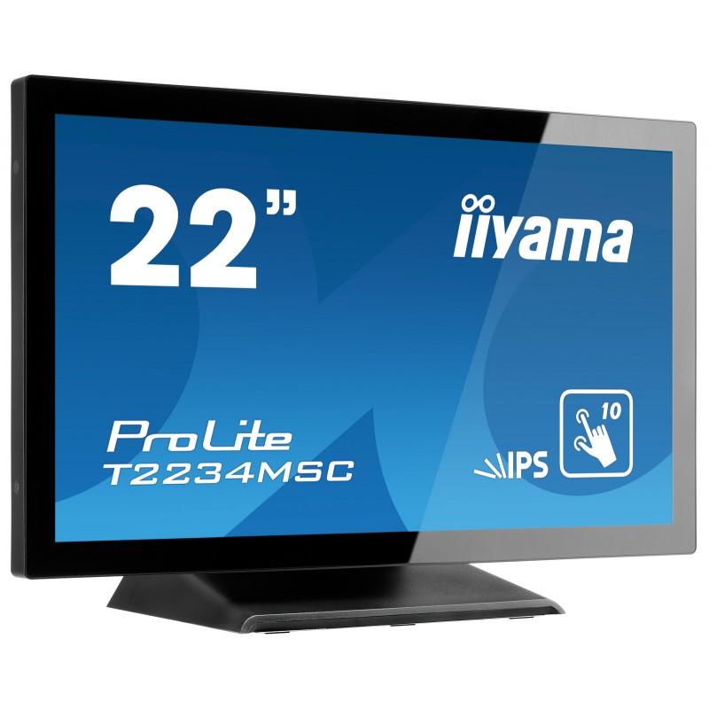 "IIYAMA PROLITE T2234MSC-B6X Écran 22"" tactile 10 points"