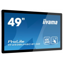 "IIYAMA PROLITE TF4938UHSC-B1AG Écran 49"" tactile 12 points"