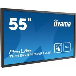 "IIYAMA PROLITE TH5565MIS-B1AG Écran 55"" tactile 12 points"