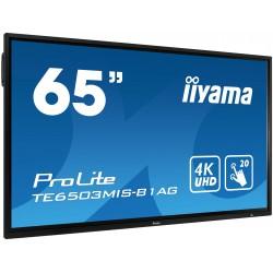 "IIYAMA PROLITE TE6503MIS-B1AG Écran 65"" tactile 20 points"