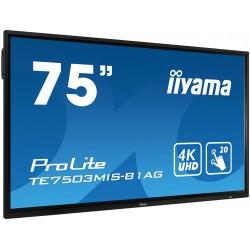 "IIYAMA PROLITE TE7503MIS-B1AG Écran 75"" tactile 20 points"