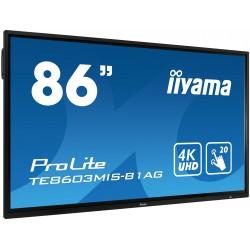 "IIYAMA PROLITE TE8603MIS-B1AG Écran 75"" tactile 20 points"