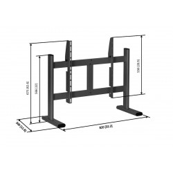 """VOGEL'S PB050 - Pied de table pour écran 36"""" à 55"""""""