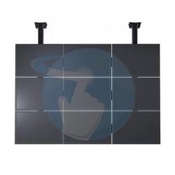 Support mur vidéo d'écrans VOGEL'S Connect'IT pour mur vidéo avec fixations au plafond