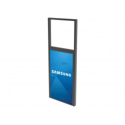 PEERLESS-AV DS-OM46ND-CEIL Support plafond pour écran vitrine double faces SAMSUNG OM46N-D