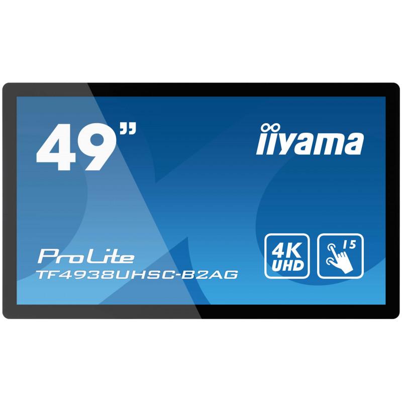 "IIYAMA PROLITE TF4938UHSC-B2AG Écran 49"" tactile 15 points"