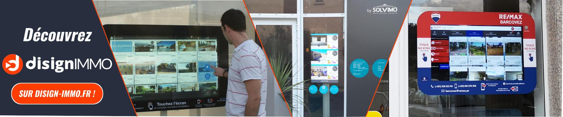 Image de lien vers DISIGN IMMO.fr - Solution d'affichage dynamique pour agences immobilières.