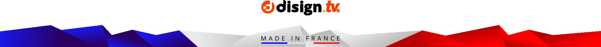 Bannière DISIGN solution Digital Signage de gestion d'affichages dynamiques