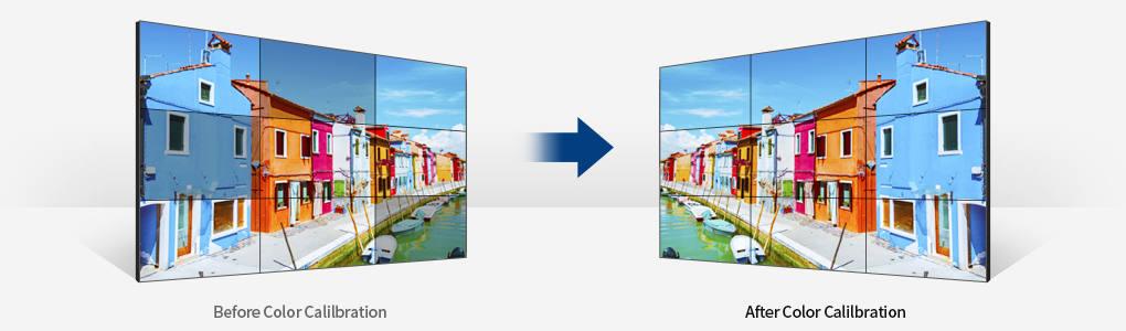 """Image description écran HYUNDAI D46NFN 46"""" Extreme Narrow Bezel pour mur vidéo à bords Ultra Fins"""