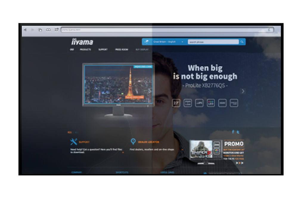 Image description moniteur écran tactile IIYAMA PROLITE TE8603MIS-B1AG 20 points