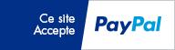 Paiement sécurisé via PayPal pour toute commande de vos écrans vitrines et autres solutions d'affichage dynamique