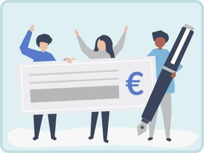 Image modes de paiement par chèque